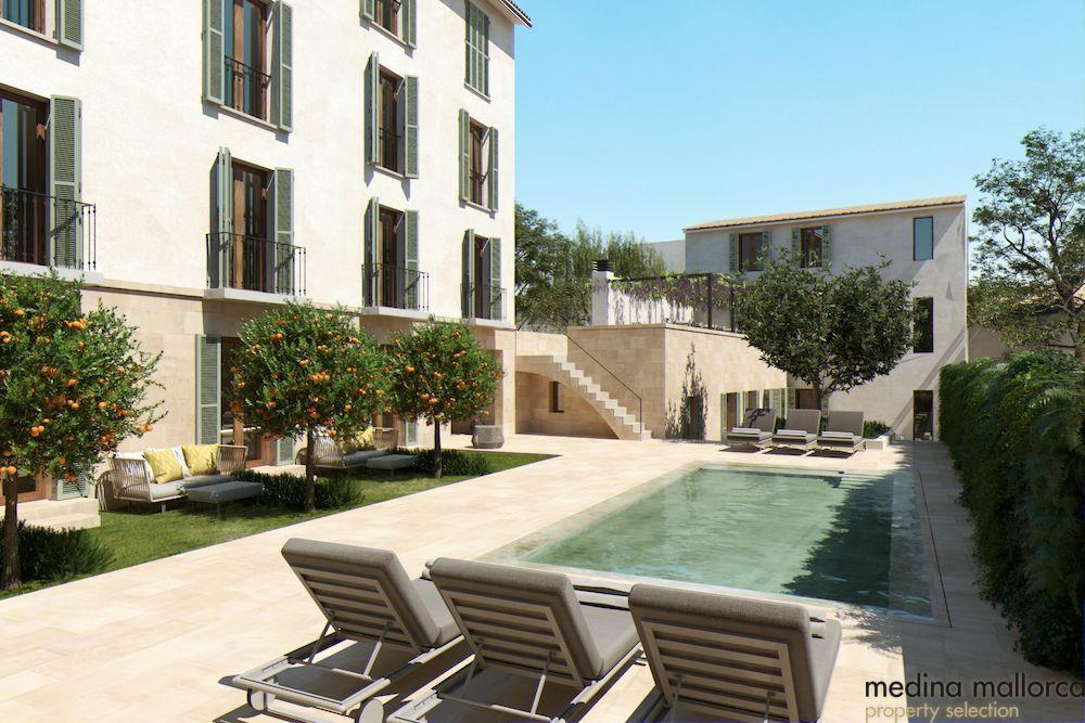 Casa en Sant Joan con anteproyecto para hotel urbano medina mallorca 1 1