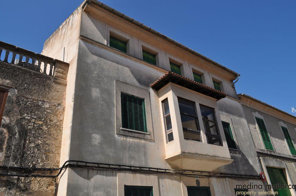 Casa en Sant Joan con anteproyecto para hotel urbano medina mallorca 3