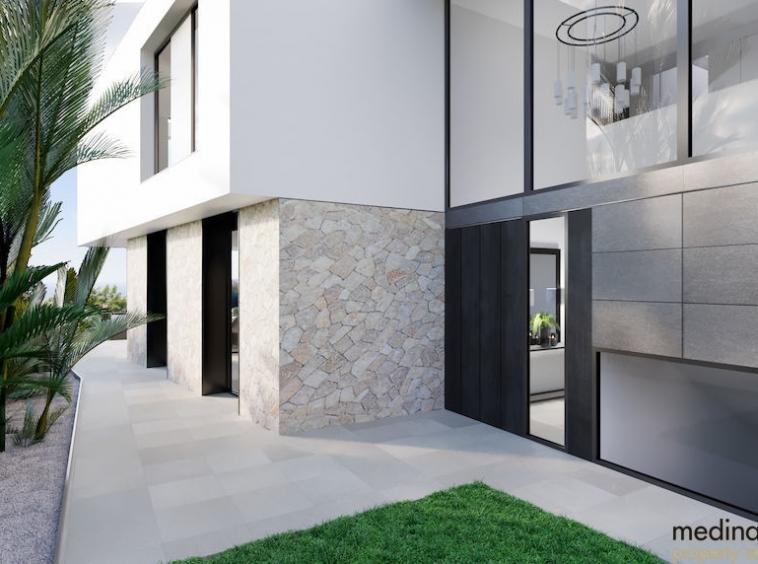 Villa en construccion con vista al mar medina mallorca 5