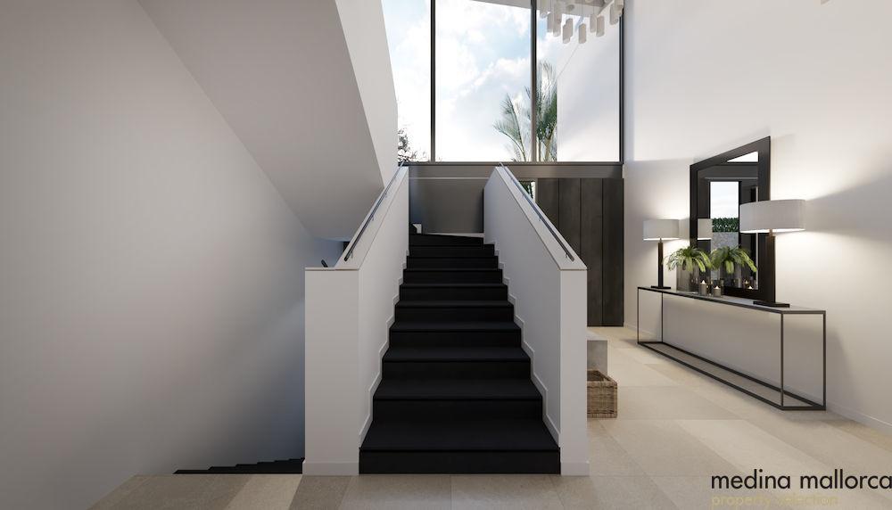 Villa en construccion con vista al mar medina mallorca 6