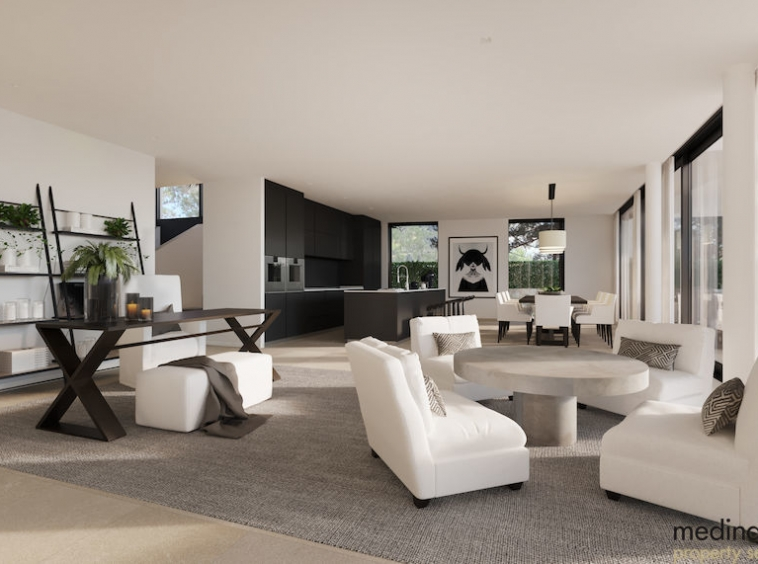 Villa en construccion con vista al mar medina mallorca 8
