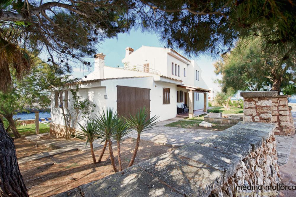Villa en primera linea en Portocolom medina mallorca 2