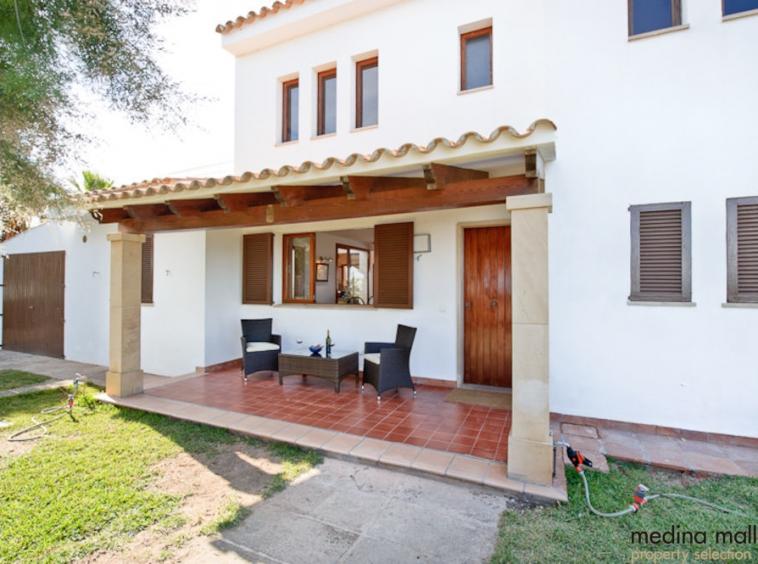 Villa en primera linea en Portocolom medina mallorca 4